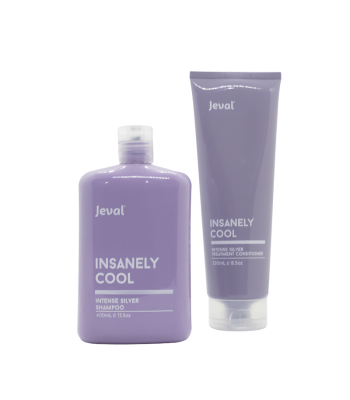Insanely Cool - Intense Silver Shampoo and Treatment Conditioner