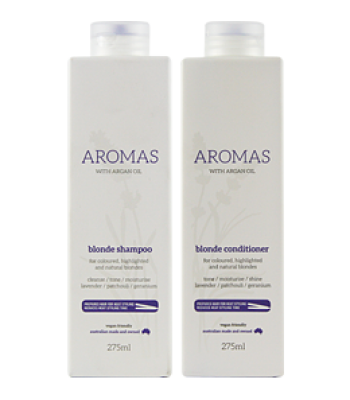 Aromas - Blonde Shampoo and Conditioner