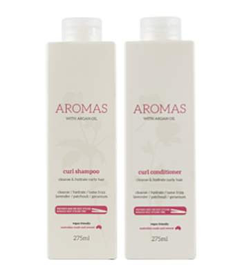 Aromas - Curl Shampoo and Conditioner