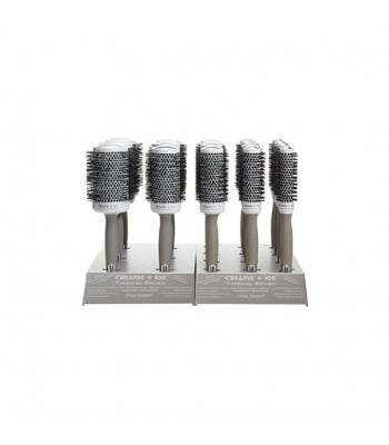 Ceramic Ionic Brush Stand